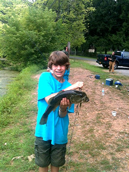 BSA Troop 33 Fishing Event - 2012